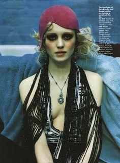 MOODBOARD for NIRVANA - Spoiler Magazine - source : Biba via Carina Case via Kat Hahn