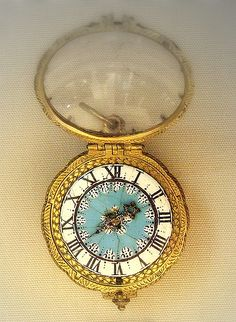 Gilt Brass and Rock Crystal Watch, Geneva, 1650