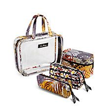 Cosmetic Organizer in Painted Feathers Painted Feathers 822297e80ae38