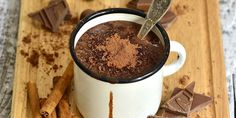 Horká čokoláda bez mléka