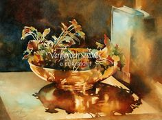 """Genevieve's Bowl"" - Painting by Beth Verheyden"