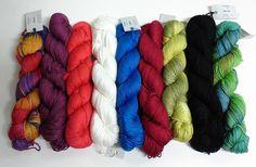 Yarn Place Vivace 100% Bamboo Yarn 100g 250 yards DK Weight Skein #YarnPlace #Plain