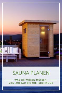 Rustic Saunas, Outdoor Sauna, Outdoor Decor, Sauna Design, House Plans, Spa, Architecture, Interior, Modern
