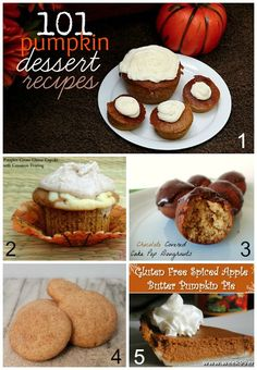 101 #Pumpkin Dessert #Recipes for Fall - The Michigan Mom