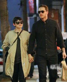 Ginnifer Goodwin and Josh Dallas in Venice, California
