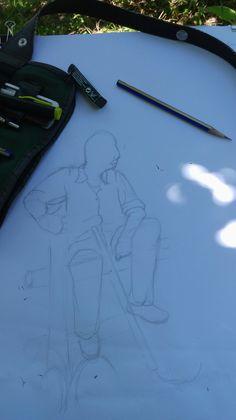 Gsf hazırlık/ imgesel figür çizimi