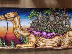 And another is finished ! #imagimorphia #imagimorphiacolouringbook #imagimorphiacoloringbook #colors #colorful #coloring #colorist #coloringbook #colorfull #kleuren #kleurboek #kleurpotloden #kleurenvoorvolwassenen #karisma #creatief #creative #instapic #instaphoto #picoftheday #followme #camel #kameel #arabia. #persian #drawing #draw #kleurboek #colorist #colorfull #sunset #karismapencils