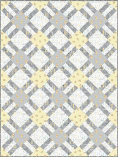 Winnie The Pooh - Cracker Lattice Free Quilt Pattern