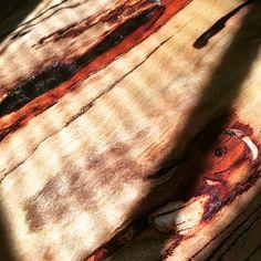 Marri slab table