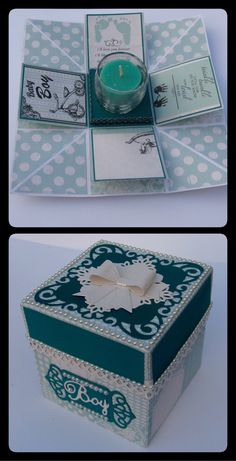 Baby Boy Box Card ( My TLC Handmade Cards TD. )