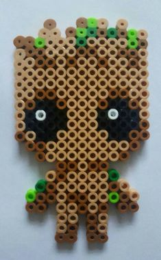 Easy Perler Bead Patterns, Melty Bead Patterns, Perler Bead Templates, Diy Perler Beads, Perler Bead Art, Beading Patterns, Loom Patterns, Embroidery Patterns, Mosaic Patterns