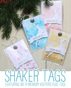 VIDEO: Fuse Tool Shaker Tags | Stamp Away With Me | Bloglovin'