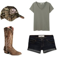 Casual Mossy Oak on Polyvore