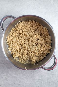 How to cook millet. It& so easy, you just need water, millet and tamari. Feel free to add your favorite ingredients to enhance the flavor. Millet Recipes, Veg Recipes, Quick Recipes, Indian Food Recipes, Cooking Recipes, Recipies, Fun Cooking, Cooking Time, How To Cook Millet