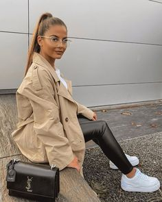 What outfit would you add to your shopping list? Credit - Combine Look Winter Fashion Outfits, Autumn Winter Fashion, Fall Outfits, Women's Fashion, Fashion Styles, Fashion Trends, Dope Outfits, Casual Outfits, Celebrity Summer Style