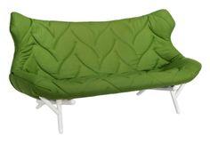 Метки: Маленькие диваны.              Материал: Металл, Ткань.              Бренд: Kartell.              Стили: Лофт, Скандинавский и минимализм.              Цвета: Зеленый.