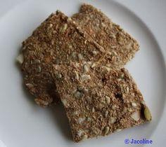 Gezond leven van Jacoline: Zomerse cracker
