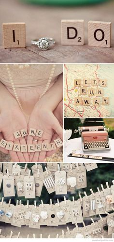 Weddings and Scrabble: Love Letters! tipi wedding inspiration loved by www.beautifulworldtents.co.uk