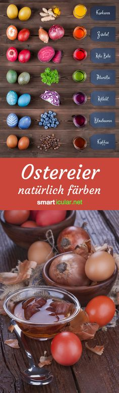 Bright Easter eggs - more diverse with the colors - # coloring .- Helle Ostereier – vielfältiger mit den Farben – Bright Easter eggs – more diverse with the colors – dye - Easter Egg Dye, Coloring Easter Eggs, Easter Food, Diy Crafts To Do, Crafts For Kids, Easter Crafts, Happy Easter, Diy Art, Creations