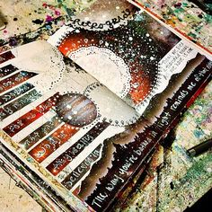 Mixed media art journal pages by jenndalyn art - mixed media Book Journal, Sketch Book, Creative, Art, Sketchbook Journaling, Book Art, Altered Art, Mixed Media Art Journaling, Art Journal Pages