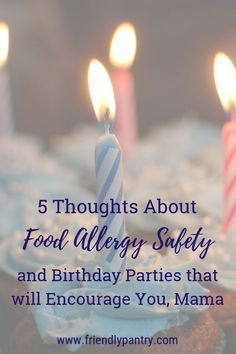 Food allergy safety at birthday parties is important. Find out how to increase food allergy awareness and decide if someone else's kids birthday party is safe for your food allergy child. Tree Nut Allergy, Milk Allergy, Peanut Allergy, Sesame Allergy, Kids Allergies, Allergy Free Recipes, Recipe For Mom, Cooking With Kids, Nut Free