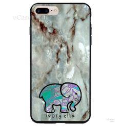 Ivory Ella Marble Design Art iPhone Cases Case