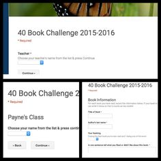 After reading Donalyn Miller's The Book Whisperer and getting to hear her speak a few years back, I felt inspired to challenge the stude. Reading Homework, Reading Goals, Teaching Reading, Learning, 40 Book Challenge, Reading Challenge, Challenge Ideas, Middle School Literature, Middle School Reading