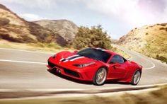 2015 Red Ferrari 458