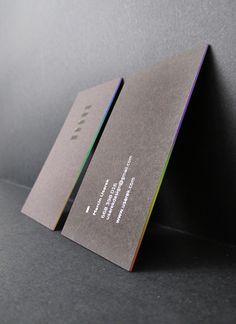Design and Paper | Marcin Usarek's Personal Business Cards | https://www.designandpaper.com