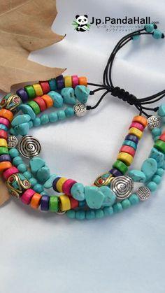 making bracelets with beads #BeadedJewelry