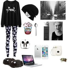 Designer Clothes, Shoes & Bags for Women Majestic Unicorn, 5sos Imagines, Michael Clifford, 5 Seconds, Out Of Style, Mac Cosmetics, Polyvore Fashion, Lazy, Going Out