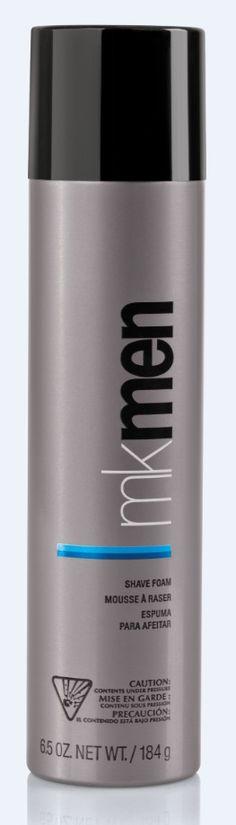Espuma de Afeitar MKMen®. Proporciona un #afeitado placentero, creando una zona de afeitado confortable entre la cuchilla de afeitar y la piel.