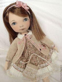 Коллекционные куклы ручной работы. Ярмарка Мастеров - ручная работа. Купить Николь. Handmade. Авторская кукла, подарок девочке