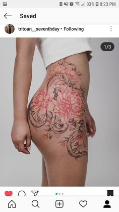 88 Alluring Sexy Tattoo Designs & Tattoo Placement Ideas For Woman - Page 61 of 88 - The Secret of Modern Beauty Sexy Tattoos, Black Tattoos, Body Art Tattoos, Girl Tattoos, Tattoos For Women, Tatoos, Tattoo Girls, Piercing Tattoo, Piercings