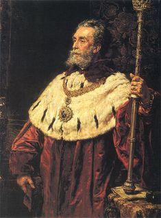 Portrait of Stanisław Tarnowski - Jan Matejko 1890