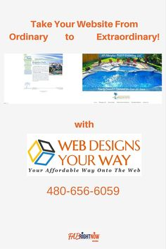 Website redesign and development. | Web Designs Your Way