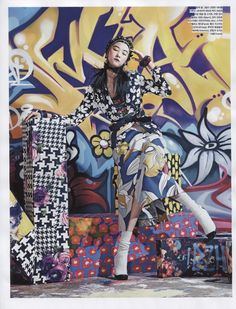 Vogue Korea February 2014 | Ji Hye Park by Kang Hyea-Won [Editorial]