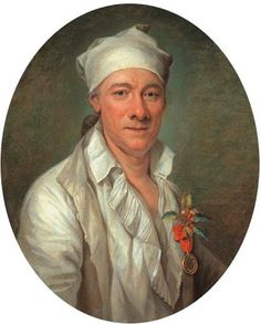 Portrait d'un horticulteur by Joseph Ducreux (French, 1735–1802)