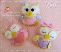 Making Your Own Plushies: Felt Toys - So Crafty Felt Diy, Felt Crafts, Diy And Crafts, Felt Owls, Felt Animals, Sewing Projects, Projects To Try, Cute Owl, Felt Ornaments