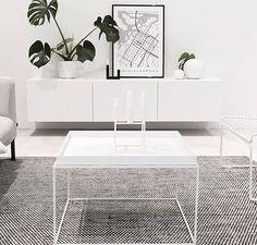 Asko Mixed Carpet Living Room Panelling, Living Room Art, Living Room Interior, Home And Living, Monochrome Interior, Minimalist Interior, Minimalist Decor, Interior Design, Living Room Inspiration