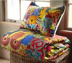 Du linge de maison en pagne coloré | Pagnifik