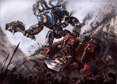 """Battle of the Collosals"" by Chris Walton (cwalton73) 