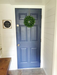 Mudroom entry door