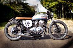 Honda CB750 four custom by Sur Les Chapeaux De Roues