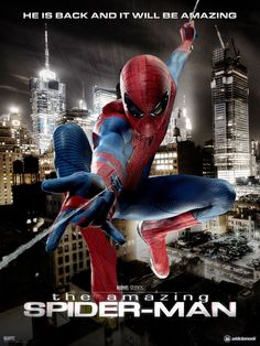 The Amazing Spider-man poster art.