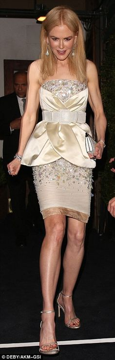 Look fresh in florals like Nicole Kidman wearing Chanel   Click 'visit' to buy it now  #DailyMail