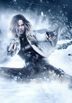 Clear action poster for Underworld: Blood Wars