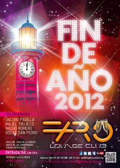 Jacobo Padilla @farochillart Costa Adeje New Years Eve 2012