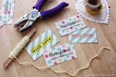 Mummy and Annie DIY: DIY: Como hacer tarjetas de visita originales