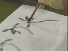 Chinese Painting - Orchid 2 for beginners